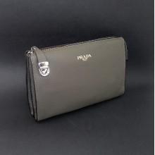 104cfc0da0b7 Купить Клатч кожаный мужской Prada 2135-1