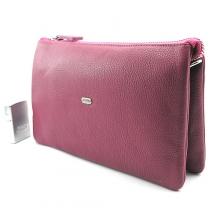 96c4cd1d8bb5 Сумка малая кожаная женская клатч розовый малиновый Desisan 070-6